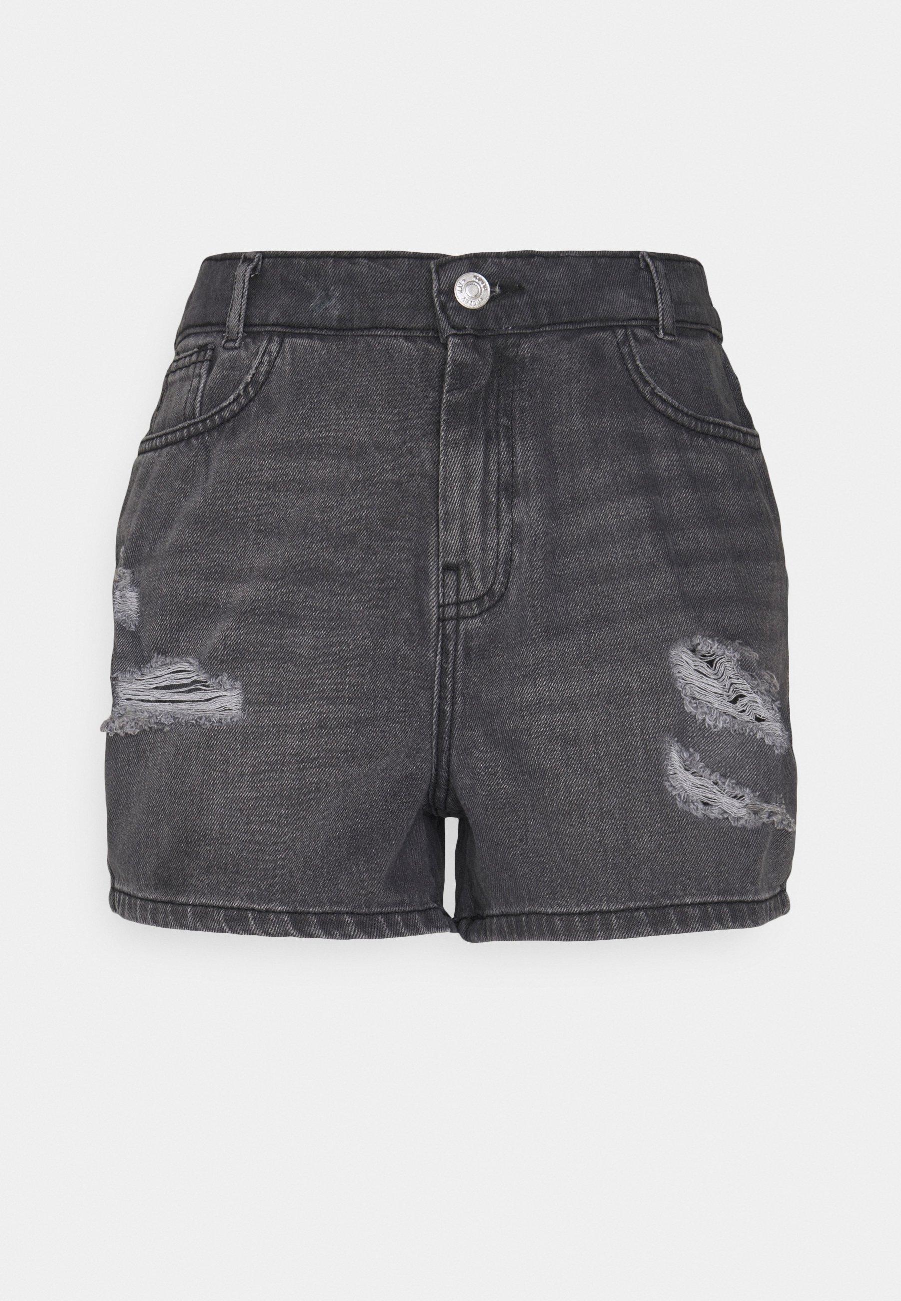 Women NMLOTTIE SKATE - Denim shorts