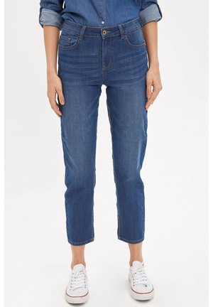 DEFACTO WOMAN STRAIGHT LEG BLUE - Straight leg jeans - blue