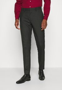 Isaac Dewhirst - CHECK SUIT SET - Garnitur - grey - 4