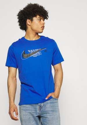 COURT TEE - Print T-shirt - game royal