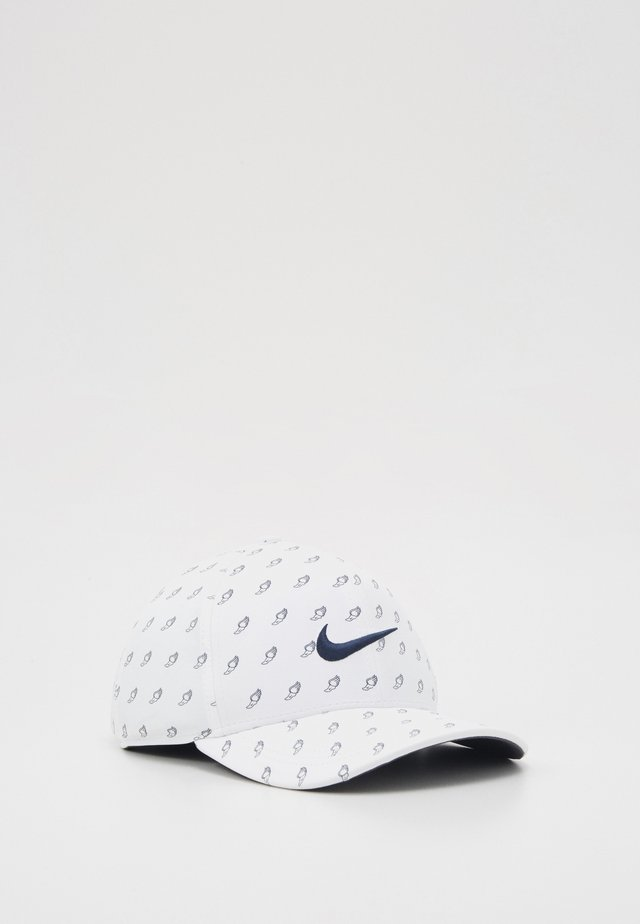 NIKE AEROBILL CLASSIC99 GOLFCAP - Pet - white/anthracite/obsidian