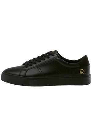 SCHWARZE SNEAKER MIT BROGUING 12204540 - Sneakers basse - black