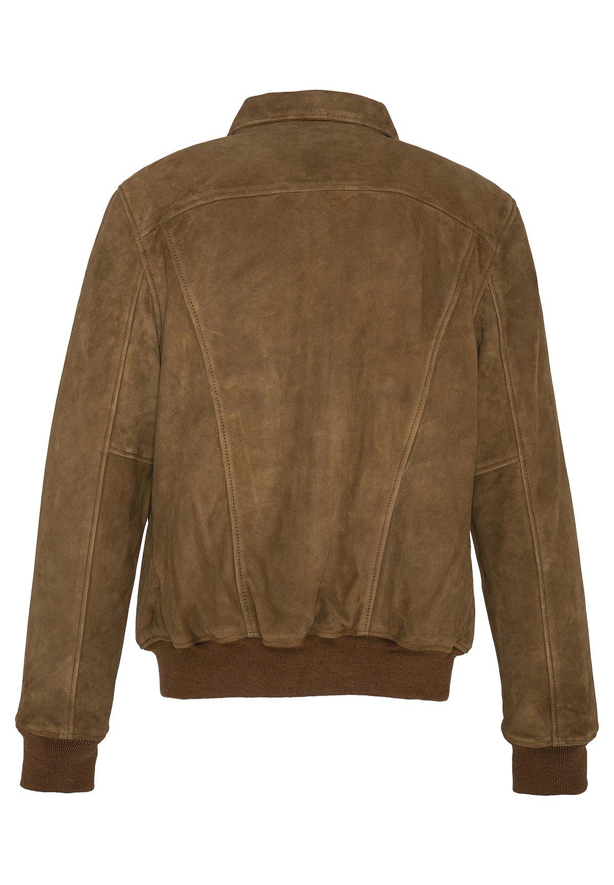 Top-Rated Men's Clothing Schott EFFET VELOURS Leather jacket rouille tLUIgcgdO