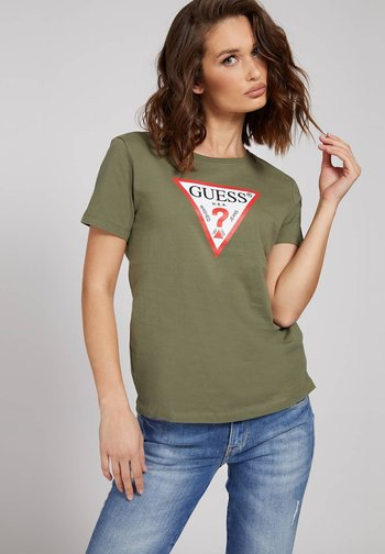 ORIGINAL - Print T-shirt - grün
