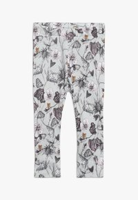 Name it - BODY SET - Leggings - Trousers - sky gray/violet