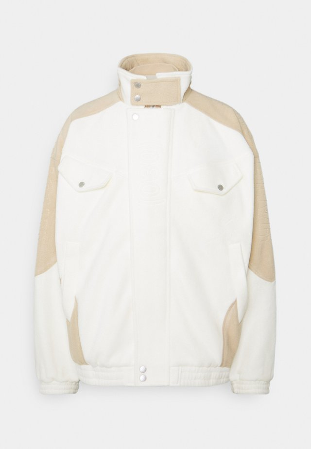 SCOT JACKET UNISEX - Lehká bunda - off-white