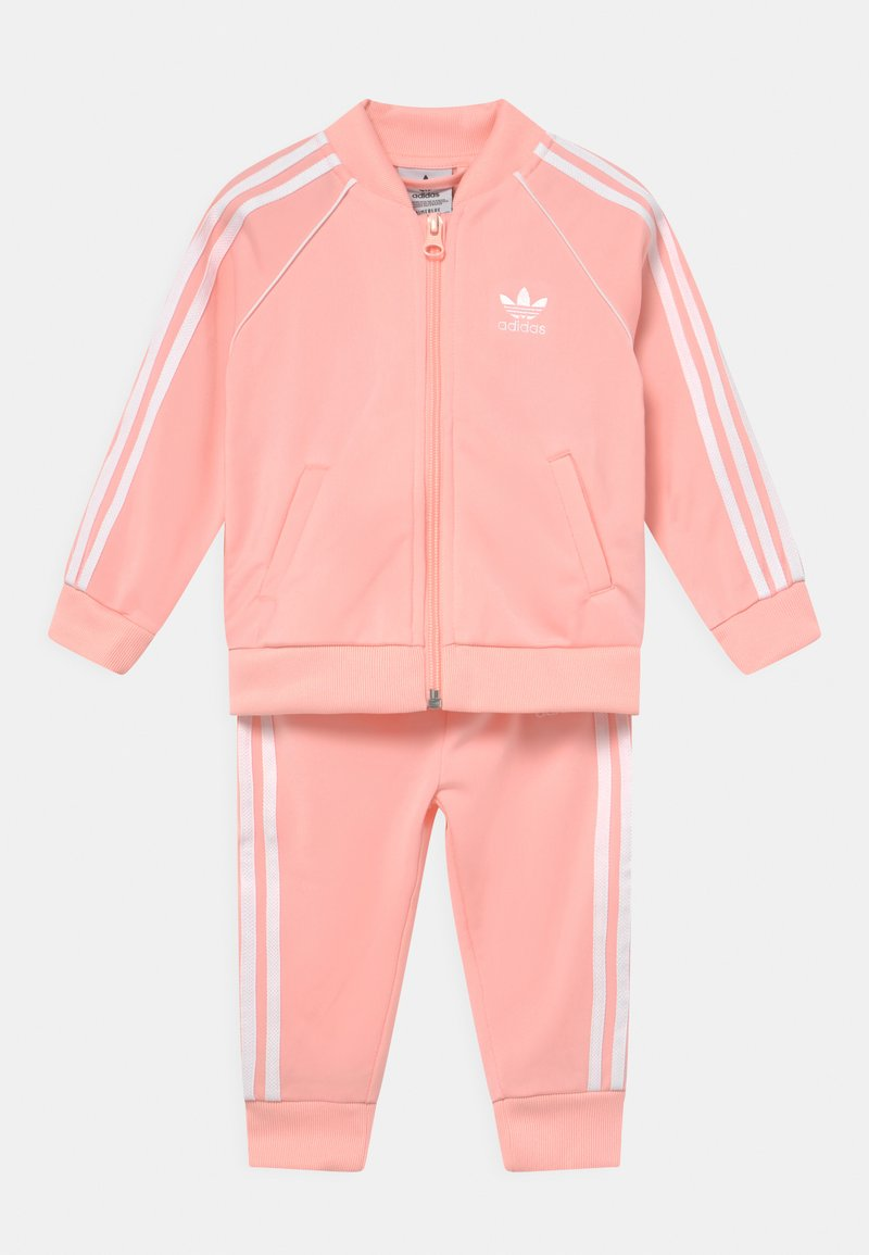 adidas Originals - Training jacket - haze coral/white