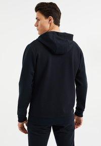 WE Fashion - Zip-up hoodie - dark blue - 2