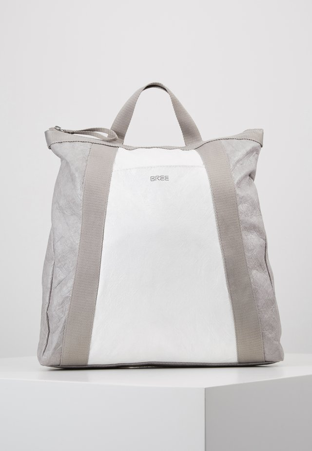 VARY BACKPACK - Rucksack - grey/white