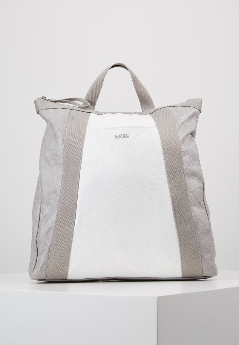 Bree - VARY BACKPACK - Sac à dos - grey/white