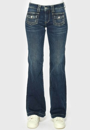 PANTALON - Bootcut jeans - blue