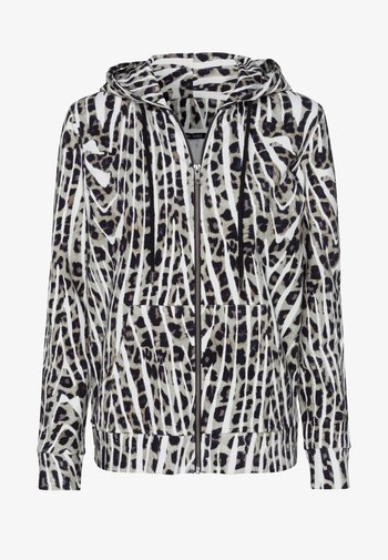 Zip-up sweatshirt - salvia varied