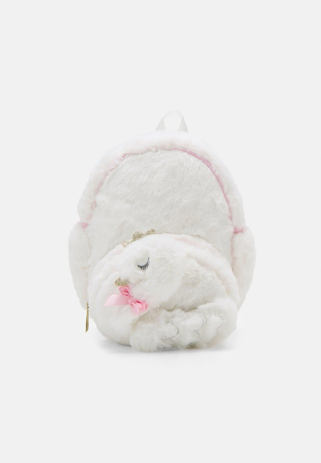 SWAN PLUSH BACKPACK - Plecak - white