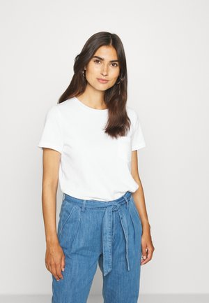 TEE - T-shirt basic - fresh white