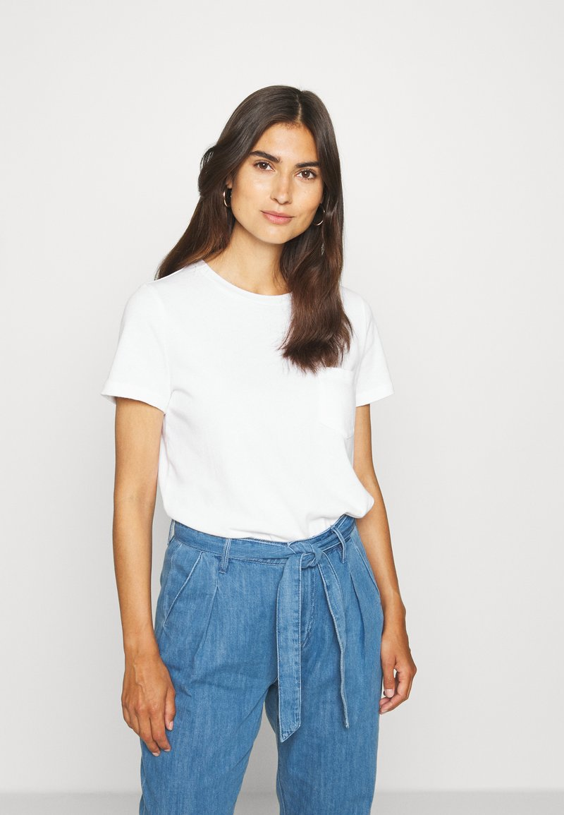 GAP - TEE - T-shirt basic - fresh white