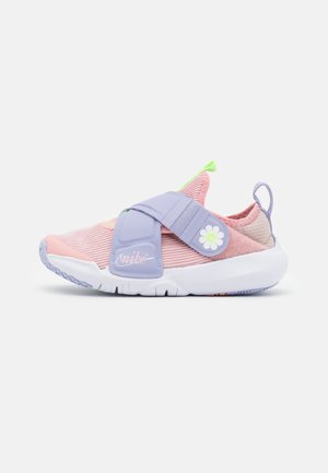 FLEX ADVANCE - Sneakers basse - pink glaze/white/purple dawn/lime glow