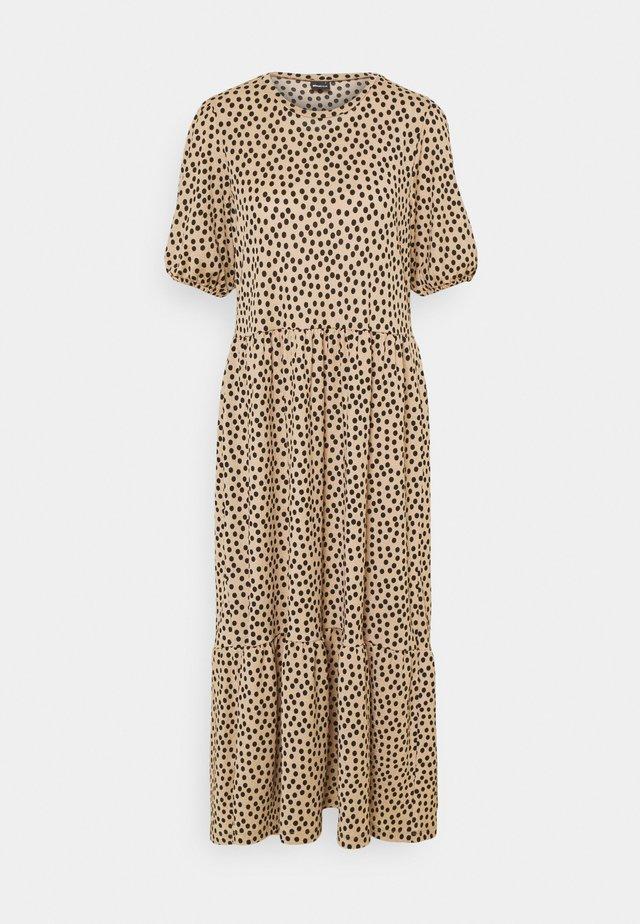 AMITA DRESS - Maxi-jurk - brown