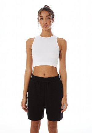 STR-EET  - Teplákové kalhoty - black