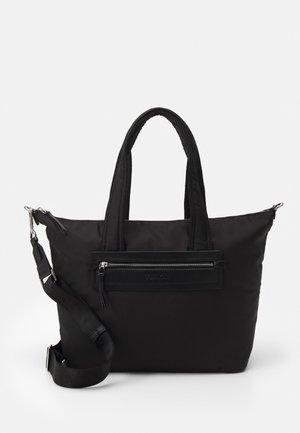 ESSENTIAL SHOPPER ZIP - Cabas - black