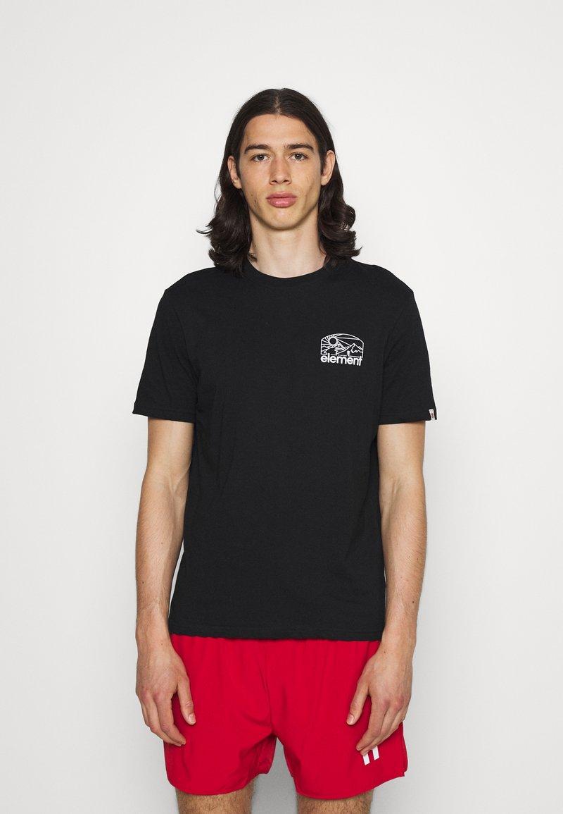 Element - SUNNET - T-shirt print - flint black
