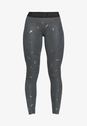 TOSS PRINT - Collants - iron grey/black