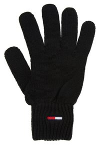Tommy Jeans - BASIC FLAG GLOVES - Rukavice - black - 2