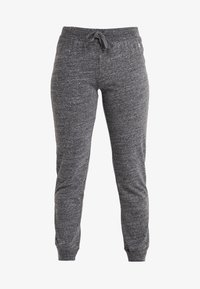 Champion - CUFF PANTS - Tracksuit bottoms - mottled dark grey