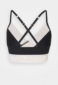 P.E Nation - FRONT RUNNER BRA - Medium support sports bra - black - 1