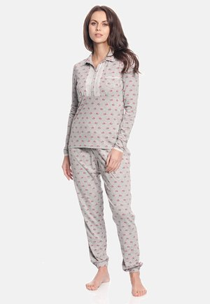 WINTER TALE  - Pyjama set - grau meliert allover