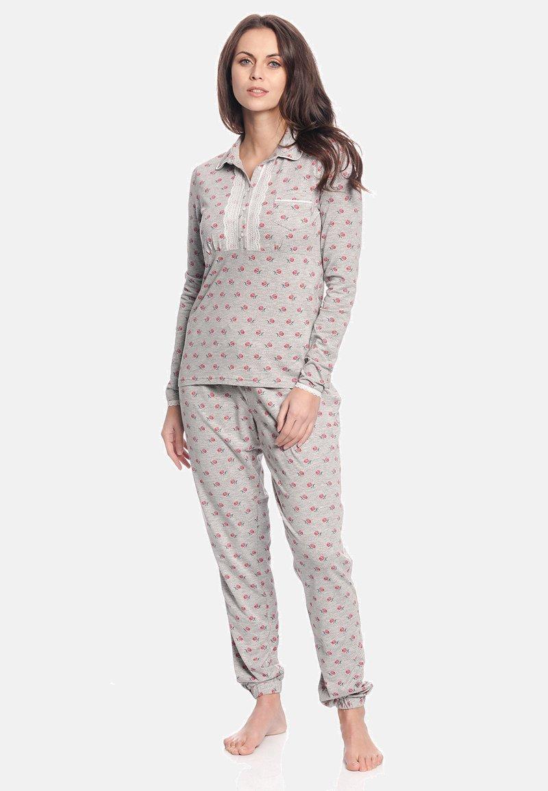 Vive Maria - WINTER TALE  - Pyjama set - grau meliert allover