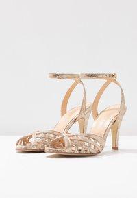 Jonak - DAICHYAN - Sandály na vysokém podpatku - platine - 4