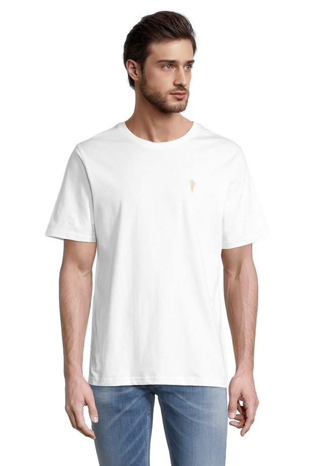 EIS - T-shirt con stampa - offwhite