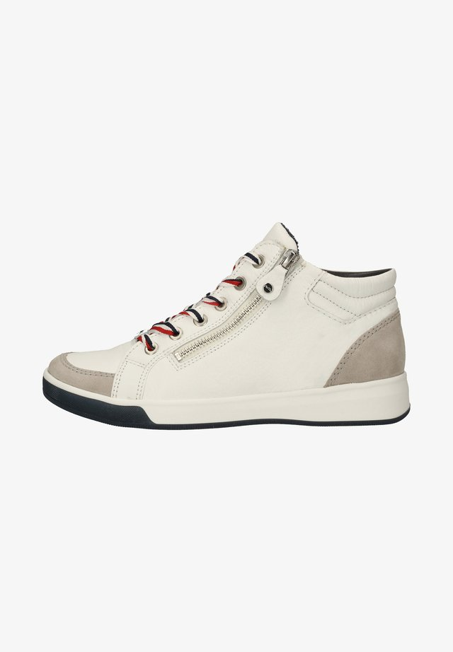 Sneakers hoog - pebble,weiss