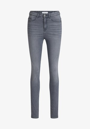 HIGH RISE - Jeans Skinny Fit - light grey