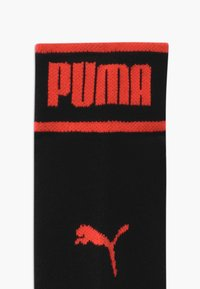 Puma - BOYS SEASONAL LOGO QUARTER 4 PACK - Ponožky - grey/black/blue - 2