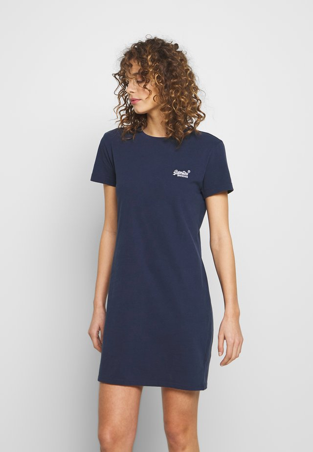 OL  DRESS - Jersey dress - atlantic navy