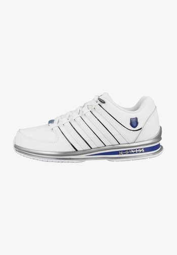 RINZLER - Trainers - white-black-classic blue