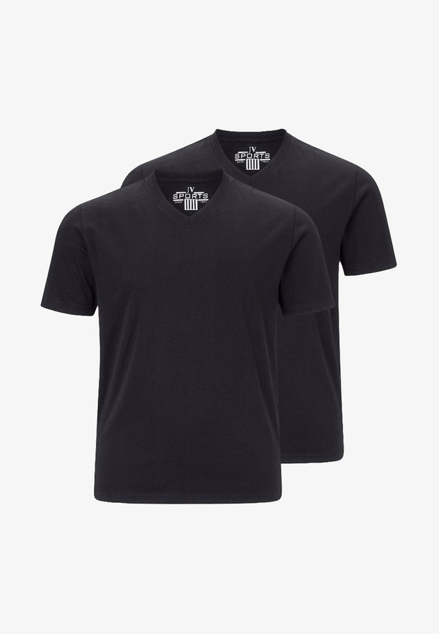 OSMO 2PACK - T-shirt basique - black