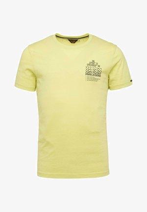 SHORT SLEEVE R NECK SINGLE  - Print T-shirt - light green