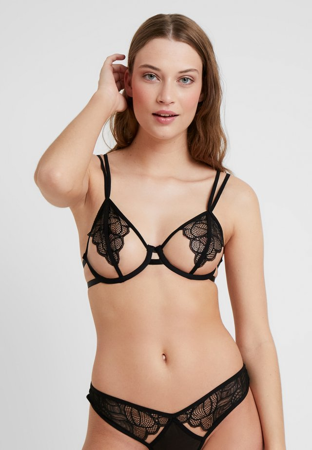 EMERSON BRA - Underwired bra - black