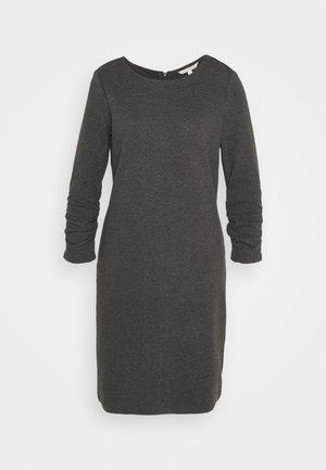 DRESS - Jumper dress - shale grey melange