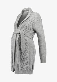 LOVE2WAIT - CARDIGAN CABLE - Chaqueta de punto - grey - 3