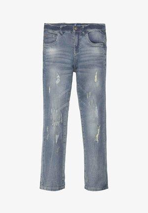 Straight leg jeans - light blue denim|blue