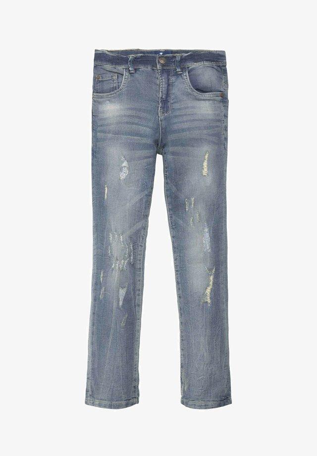 Straight leg jeans - light blue denim blue