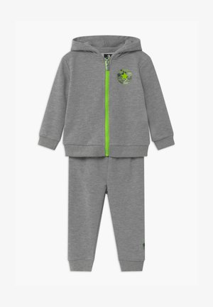 DINO FULL ZIP SET - Träningsset - grey
