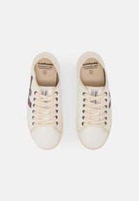 Flamingos' Life - RANCHO V.2 UNISEX - Sneakersy niskie - white/burgundy/ivory - 3