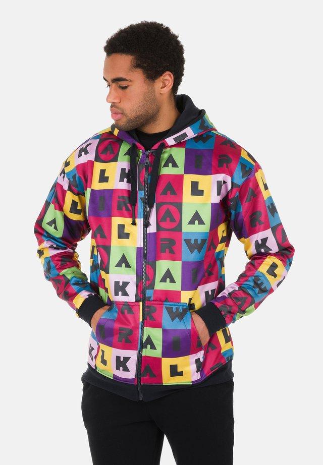 Zip-up hoodie - mehrfarbig
