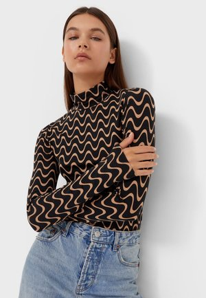 ROLLKRAGEN  - Long sleeved top - black