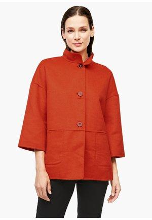 Summer jacket - dark orange