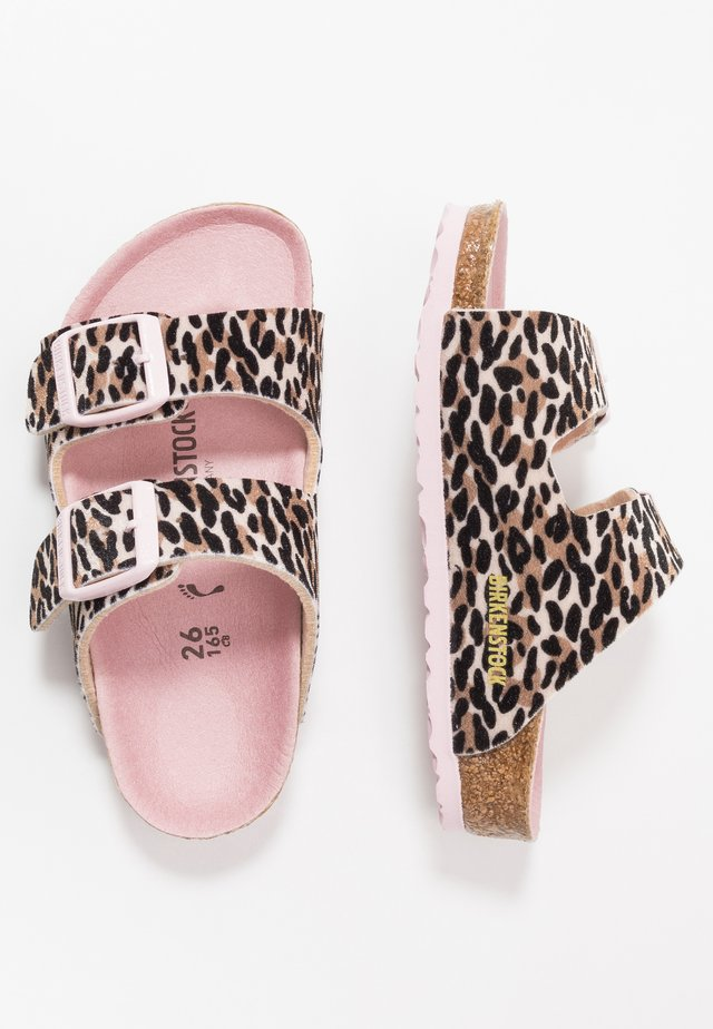 ARIZONA - Slippers - brown/rose